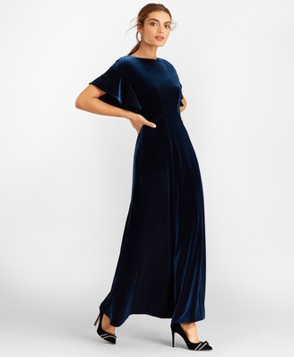 Brooks Brothers Velvet Gown