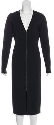 Veronica Beard Long Sleeve Midi Dress