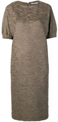 Agnona short-sleeve shift dress