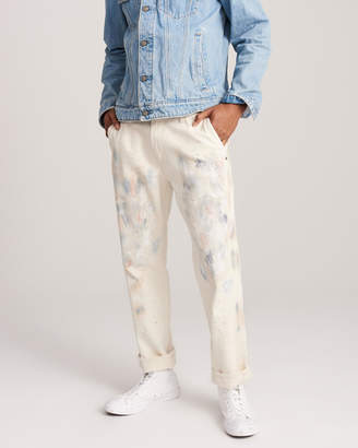 Abercrombie & Fitch Straight Painter Jeans