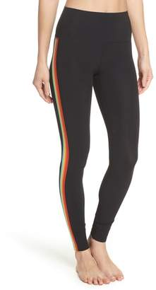 Spiritual Gangster Rainbow Stripe Leggings