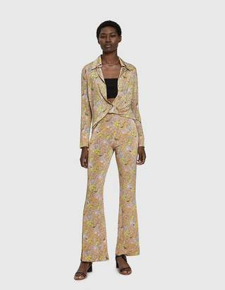 Acne Studios Flared Floral Trouser