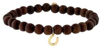 Sydney Evan 14K Horseshoe Bead Bracelet