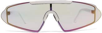 Acne Studios Bornt Sunglasses in White & Pink | FWRD