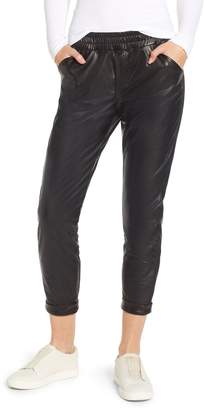 David Lerner Cuffed Tapered Jogger Pants