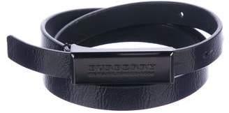 Burberry Patent Leather Belt