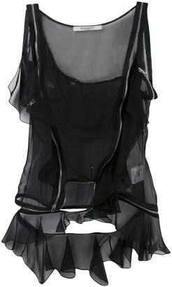 Givenchy one shoulder top