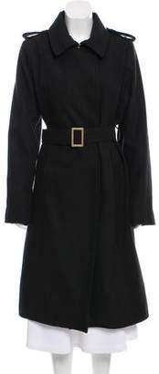 Rachel Zoe Belted Long Coat