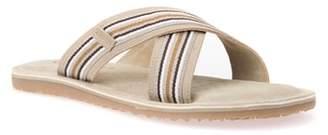 Geox Artie 14 Cross Strap Slide Sandal