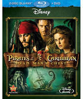 Disney Pirates of the Caribbean: Dead Man's Chest - Blu-ray + DVD 3-Disc Set
