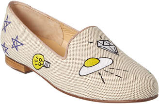Jon Josef Flying Saucer Linen Loafer