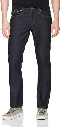 True Religion Men's Straight Jean with Flap Back Pockets2