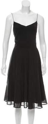 Marc Jacobs Sleeveless Silk-Blend Dress