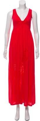 Diane von Furstenberg Sleeveless Maxi Dress Fuchsia Sleeveless Maxi Dress