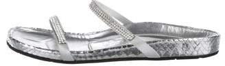 Pedro Garcia Embellished Slide Sandals
