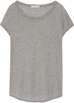 James Perse - Cotton-jersey T-shirt - Gray $135 thestylecure.com