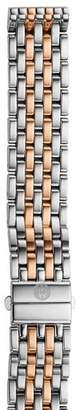 Michele Deco 16 Two-Tone Watch Bracelet, 16mm