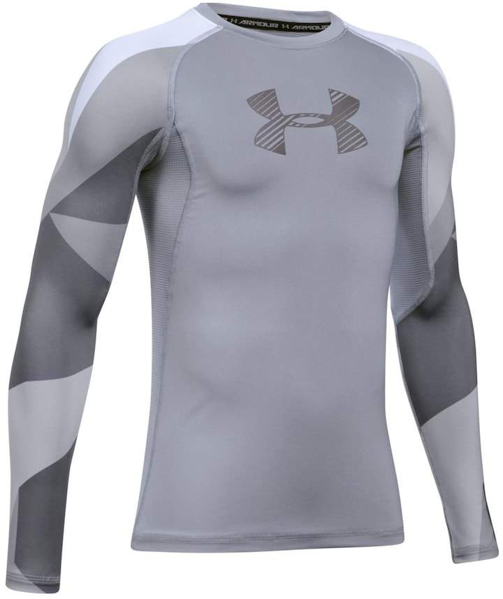Under Armour Boys 8-20 Under Armour Logo Performance Tee