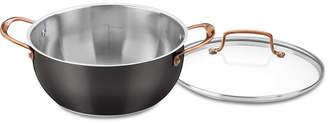 Cuisinart Onyx Black & Rose Gold 5.5-Qt. Multi-Purpose Pot with Cover