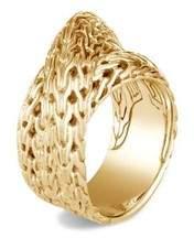 John Hardy Classic Chain Tiga Overlap Ring