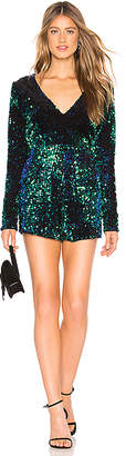 About Us Celeste Sequin Romper