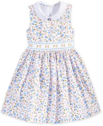 Bonnie Jean Floral-Print Peter Pan Collar Dress, Toddler & Little Girls (2T-6X) $52 thestylecure.com