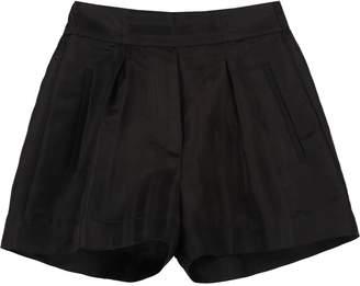Jucca High-waist Wide-leg Shorts