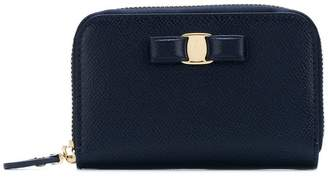 Salvatore Ferragamo Vara bow coin wallet