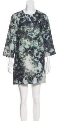 Raquel Allegra Printed Shift Dress