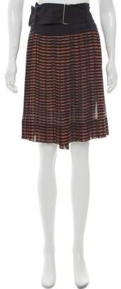 A.L.C. Pleated Knee-Length Skirt