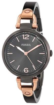 Fossil Women's ES3452 Georgia Analog Display Analog Quartz Watch