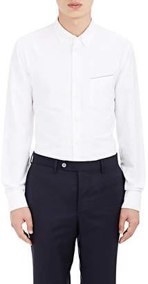 Officine Generale Men's Selvedge-Detailed Cotton Oxford Shirt - White
