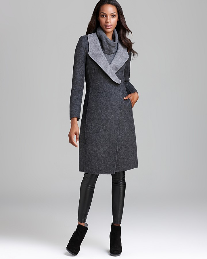 Armani Coat - Tone Two Wrap