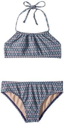 Toobydoo Amazon Bandeau Halter Bikini Girl's Swimwear Sets