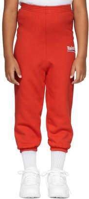 Balenciaga Girl Red Campaign Logo Lounge Pants
