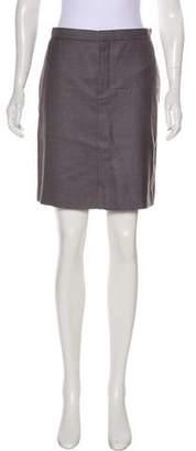 Chloé Silk-Blend Knee-Length Skirt