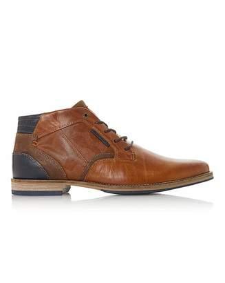Dune Camo Detail Chukka Boots