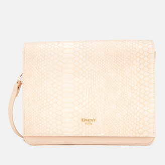 Dune Women's Daschellie Cross Body Bag - Nude Reptile