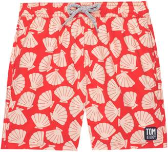 Trunks Tom & Teddy Shell Print Swim