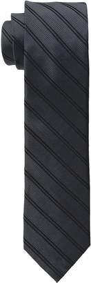 Calvin Klein Men's Mirror Double Stripe Slim Tie