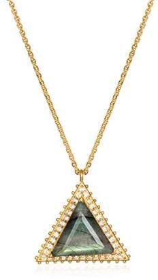 Brass Triangle Necklace - ShopStyle