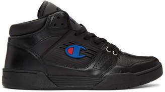 Champion Reverse Weave Black 3 On 3 Sneakers