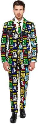 Star Wars Opposuits Men's OppoSuits Slim-Fit Strong Force Suit & Tie Set