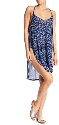 Lucky Brand Nomad Ikat Cover-Up Dress