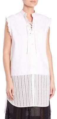 Thakoon Sleeveless Tunic Dress
