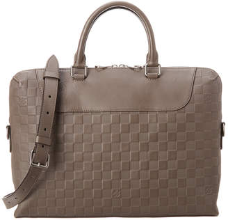 Louis Vuitton Grey Damier Infini Canvas Porte Documents Jour