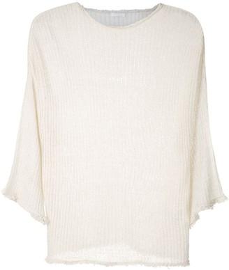 OSKLEN E-fabrics knitted blouse