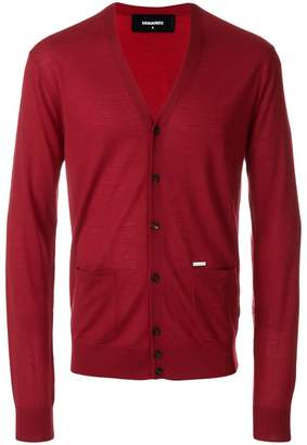 DSQUARED2 slim-fit cardigan