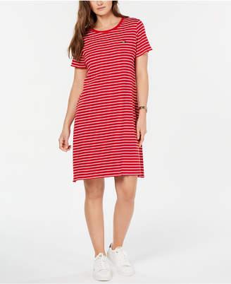 Tommy Hilfiger Cotton Striped T-Shirt Dress