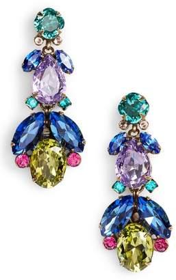 Sorrelli Pine Crystal Drop Earrings